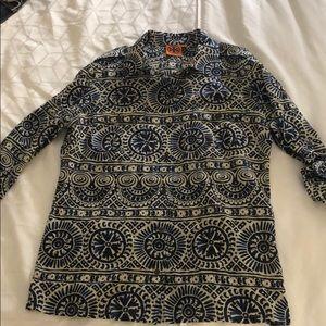 Tory Burch Shirt Long-sleeve or roll button sleeve